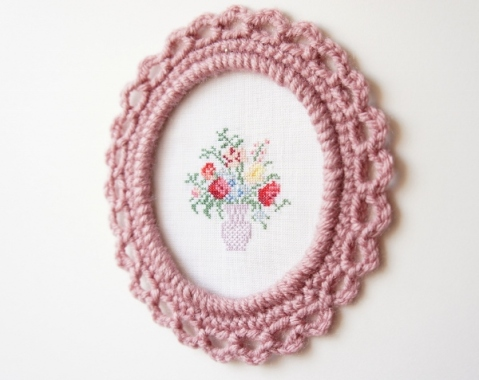Picture Frames :: Free Crochet Patterns - DIY Crafts w/ FCG