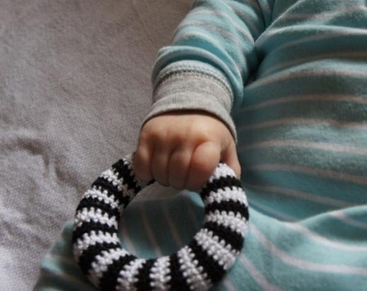 Crochet Teether Toy by JaKiGu