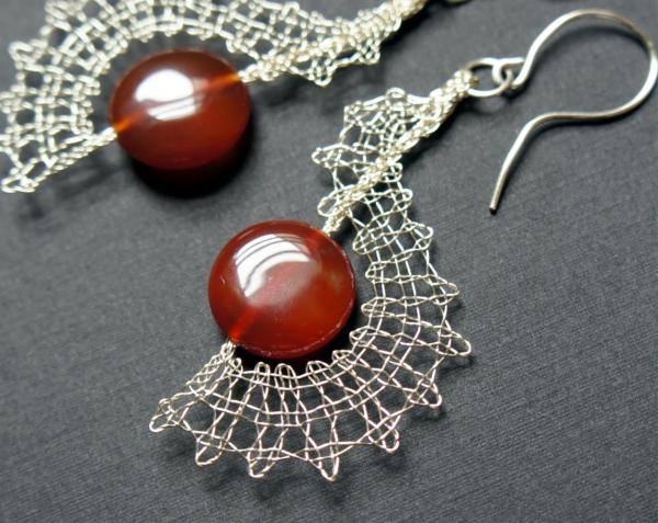 Bobbin Lace Earrings by JaKiGu