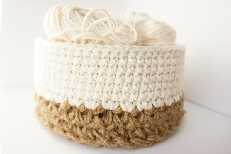 work in progress: jute and cotton baskets JaKiGu