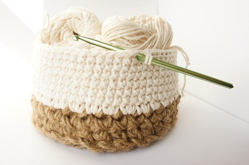 work in progress: jute and cotton baskets ? JaKiGu