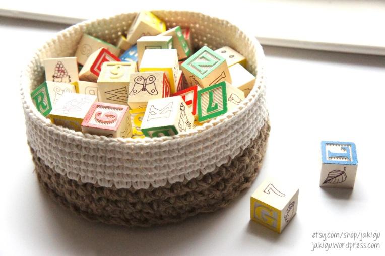 Stacking Baskets Crochet Pattern by JaKiGu